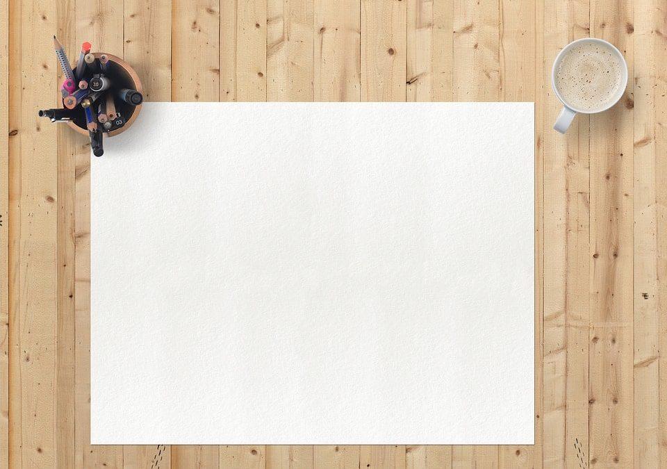 Schreibtischunterlage für besseren Komfort bei der Arbeit