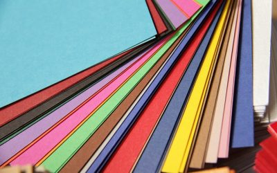 Farben in Werbekatalogen