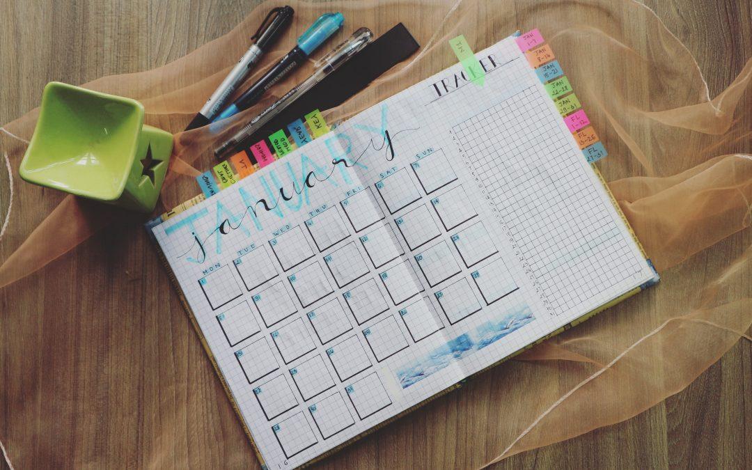 5 Gründe, warum Sie weiterhin einen Kalender aus Papier haben möchten!