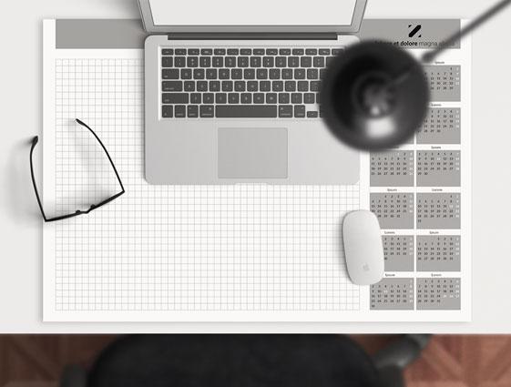 Schreibtischunterlage