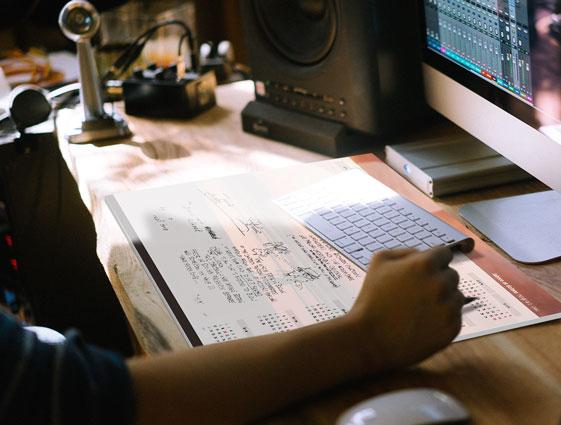 Schreibtischunterlage– ein moderner Planer